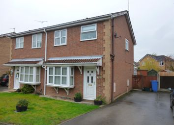 Thumbnail 3 bedroom semi-detached house for sale in Woodbeck Rise, Retford