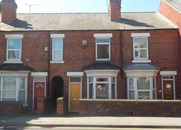 Thumbnail 2 bed terraced house to rent in Gateford Road, Worksop