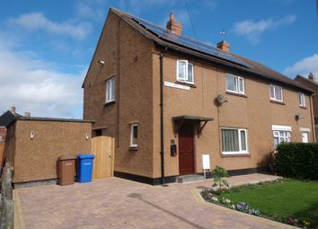 Thumbnail 3 bedroom semi-detached house for sale in Hollywell Crescent, Amble, Morpeth