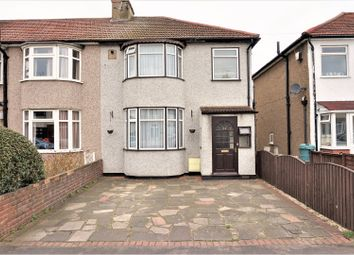 Thumbnail 3 bedroom end terrace house for sale in Southern Way, Romford