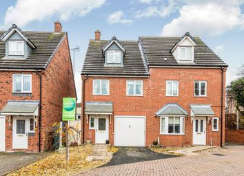 Thumbnail 3 bed semi-detached house for sale in The Lindens, Rugeley