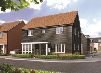 Thumbnail 4 bed detached house for sale in Broadmere Road, Beggarwood, Basingstoke