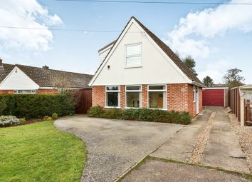 Thumbnail 3 bed bungalow for sale in Hubbard Close, Wymondham