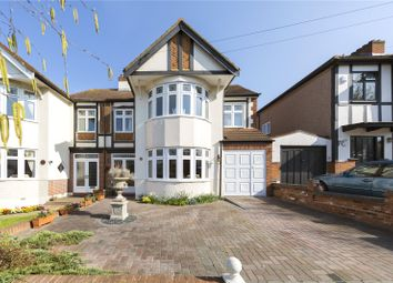 Thumbnail 4 bed semi-detached house for sale in River Drive, Upminster