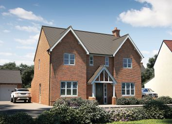 "Thumbnail 4 bedroom detached house for sale in ""The Thornsett"" at Winchester Road, Boorley Green, Botley"