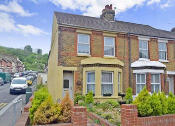 Thumbnail 3 bed end terrace house for sale in Folkestone Road, Dover, Kent