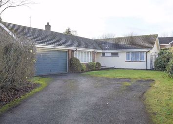 Thumbnail 3 bed detached bungalow to rent in Dingle Way, Cuddington, Northwich