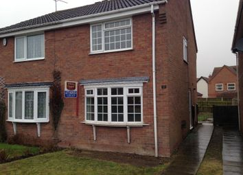 Thumbnail 2 bed semi-detached house to rent in River View, Retford