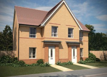 "Thumbnail 3 bed semi-detached house for sale in ""Dewsbury"" at Monkton Lane, Hebburn"