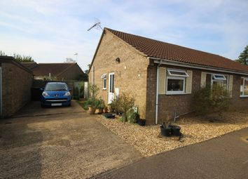 Thumbnail 2 bedroom semi-detached bungalow to rent in Bell Gardens, Haddenham, Ely