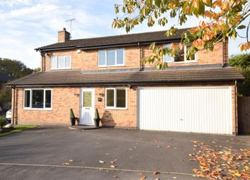 Thumbnail 6 bed detached house for sale in Thornborough Close, Narborough, Leicester