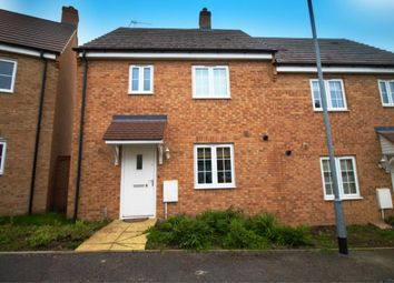 Thumbnail 3 bed semi-detached house for sale in Savernake Drive, Corby