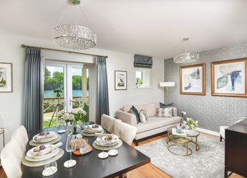 Thumbnail 1 bedroom flat for sale in Holborough Lakes, Manley Boulevard, Snodland, Kent