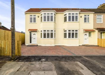 Thumbnail 4 bedroom end terrace house for sale in Rainsford Way, Hornchurch
