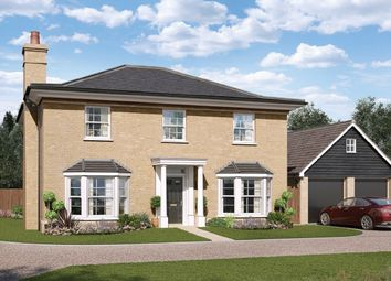 Thumbnail 4 bed detached house for sale in Wherry Gardens, Wroxham, Norwich