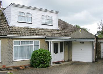 Thumbnail 3 bed semi-detached bungalow for sale in Arnsby Crescent, Moulton, Northampton