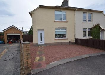 Thumbnail 2 bed semi-detached house for sale in James Sym Crescent, Kilmarnock