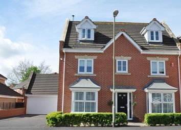 Thumbnail 5 bed detached house for sale in Lancaster Close, Cullompton