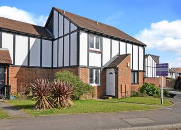 Thumbnail 2 bed terraced house for sale in Kings Chase, East Molesey