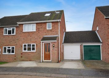 Thumbnail 4 bed semi-detached house for sale in Dickeymoors, Great Waltham, Chelmsford