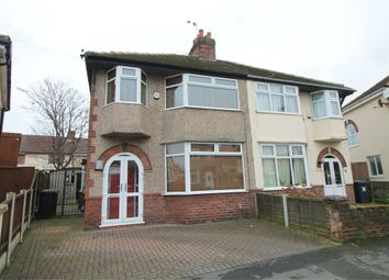 Thumbnail 3 bed semi-detached house for sale in Somerset Road, Brighton-Le-Sands, Liverpool, Merseyside