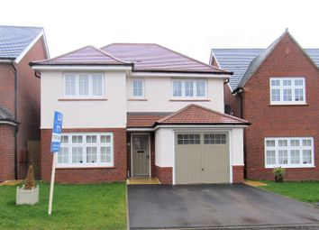 Thumbnail 4 bed detached house for sale in Jubilee Way, Countesthorpe, Leicester