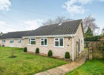 Thumbnail 4 bed bungalow for sale in Thurlton, Norwich, Norfolk