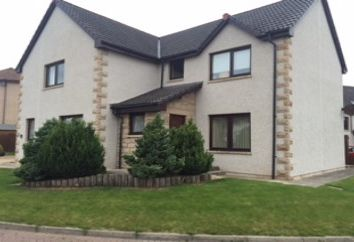 Thumbnail 4 bed detached house to rent in 2 Leonach Place, Elgin