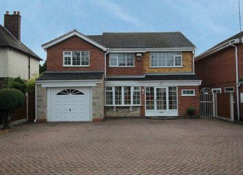Thumbnail 4 bed detached house to rent in Shirley Road, Hall Green, Birmingham