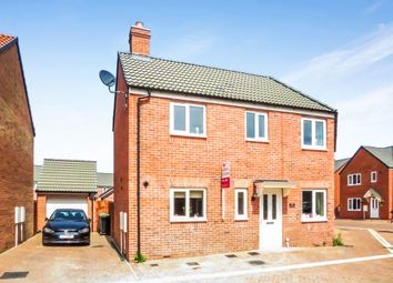 Thumbnail 3 bed semi-detached house for sale in Honeysuckle Road, Witham St. Hughs, Lincoln