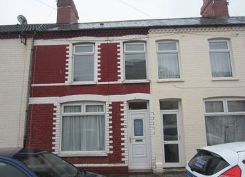 Thumbnail 3 bedroom terraced house to rent in Stafford Road, Grangetown, Cardiff