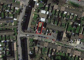 Thumbnail Land for sale in Cavell Walk, Stevenage, Hertfordshire