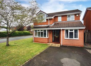 Thumbnail 4 bed detached house for sale in Dorset Close, Tamworth