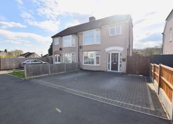 Thumbnail 3 bed semi-detached house for sale in Pine Tree Avenue, Coventry
