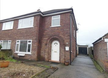 Thumbnail 3 bed semi-detached house to rent in Rugby Road, Scunthorpe