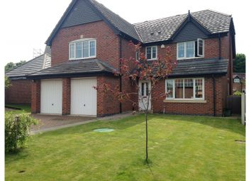 Thumbnail 5 bed detached house for sale in Villa Farm Close, Market Drayton