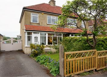 Thumbnail 3 bed semi-detached house for sale in Highfield Crescent, Baildon