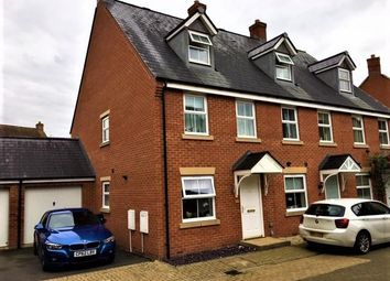Thumbnail 3 bed end terrace house for sale in Newson Road, Taw Hill, Swindon
