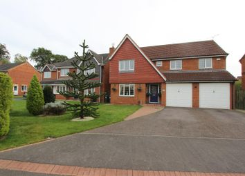 Thumbnail 5 bed detached house for sale in Greenrigg Close, Faverdale, Darlington
