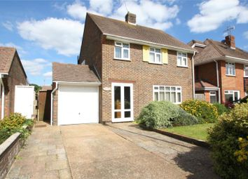 Thumbnail 3 bed detached house for sale in Alinora Avenue, Goring-By-Sea, Worthing