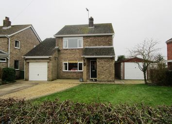 Thumbnail 4 bed detached house for sale in Church Lane, Saxilby, Lincoln