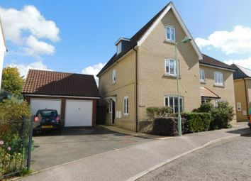 Thumbnail 4 bed semi-detached house for sale in Redwing Drive, Stowmarket, Suffolk