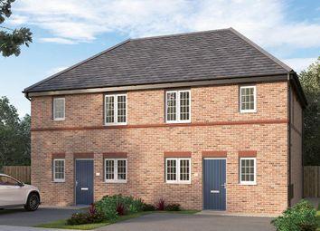 "Thumbnail 3 bedroom semi-detached house for sale in ""The Irtonbridge"" at Burton Street, Market Harborough"