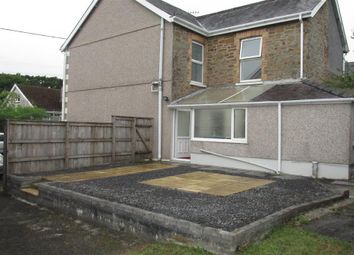 Thumbnail 3 bed semi-detached house to rent in Dyffryn Road, Ammanford