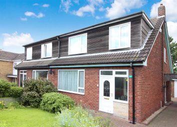 Thumbnail 3 bedroom semi-detached house for sale in Westway, Garforth, Leeds
