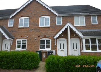 Thumbnail 2 bed town house to rent in Warren Hill, Newhall, Swadlincote