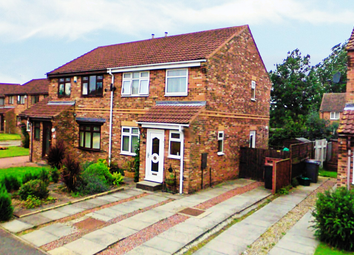 Thumbnail 3 bed semi-detached house for sale in Sheraton Close, Newton Aycliffe, Durham