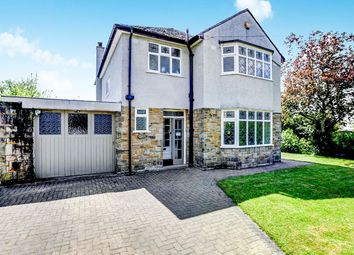 Thumbnail 3 bed detached house for sale in Hadfield Road, Hadfield, Glossop