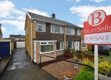 Thumbnail 3 bed semi-detached house for sale in Pembroke Crescent, High Green, Sheffield, South Yorkshire