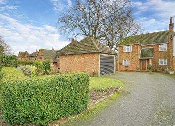 Thumbnail 4 bed detached house for sale in Upwood Road, Bury, Ramsey, Huntingdon